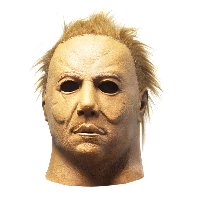 KINGMAS Horror Movie Halloween Michael Myers Mask, Cosplay Latex ...
