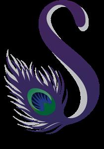 S Peacock Letter Logo Vector S Logo Design Feather Logo Peacock Logo
