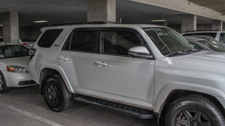 Blacking out plastidip 5th gen 4runner roof rack roof