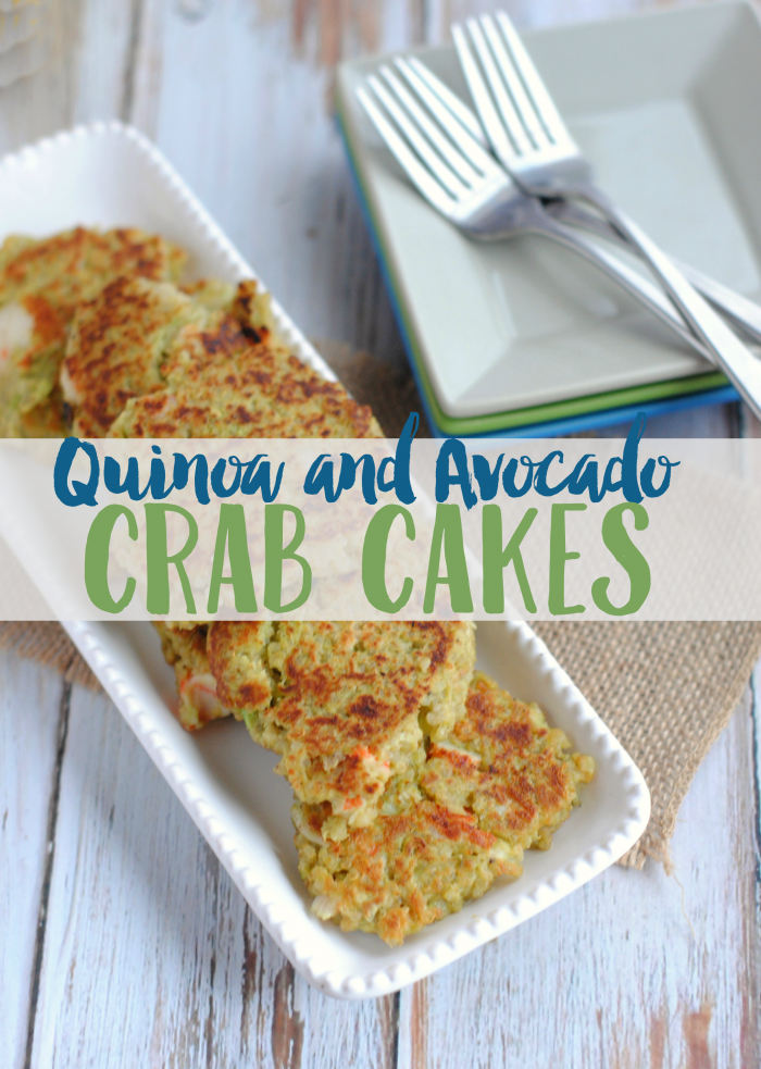 Quinoa and Avocado Crab Cakes,  Quinoa and Avocado Crab Cakes,