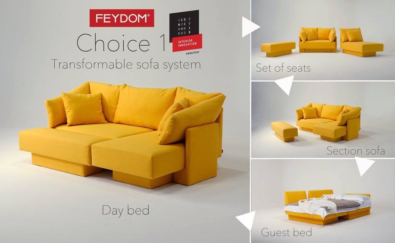 Pin By Zoran Radonjanin On Choice Sofa Cool Furniture Guest Bed