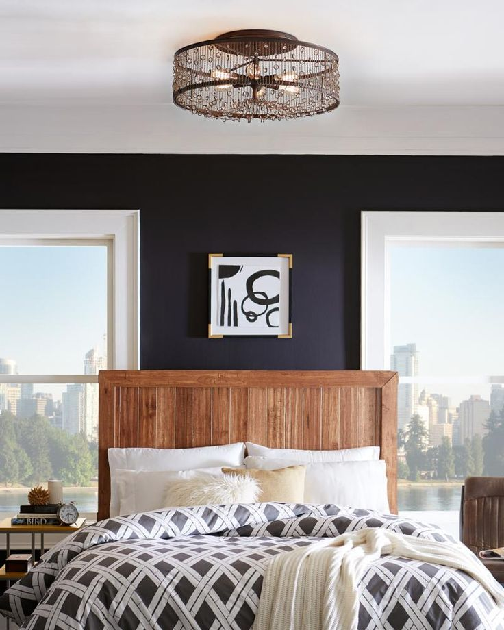 Lighting Stores Colorado Springs: Modern And Rustic Themes Work Beautifully Together In The
