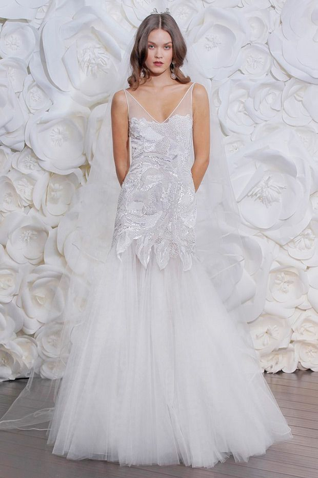 For the Contemporary Princess Bride: Naeem Khan Fall 2015 | Wedding ...