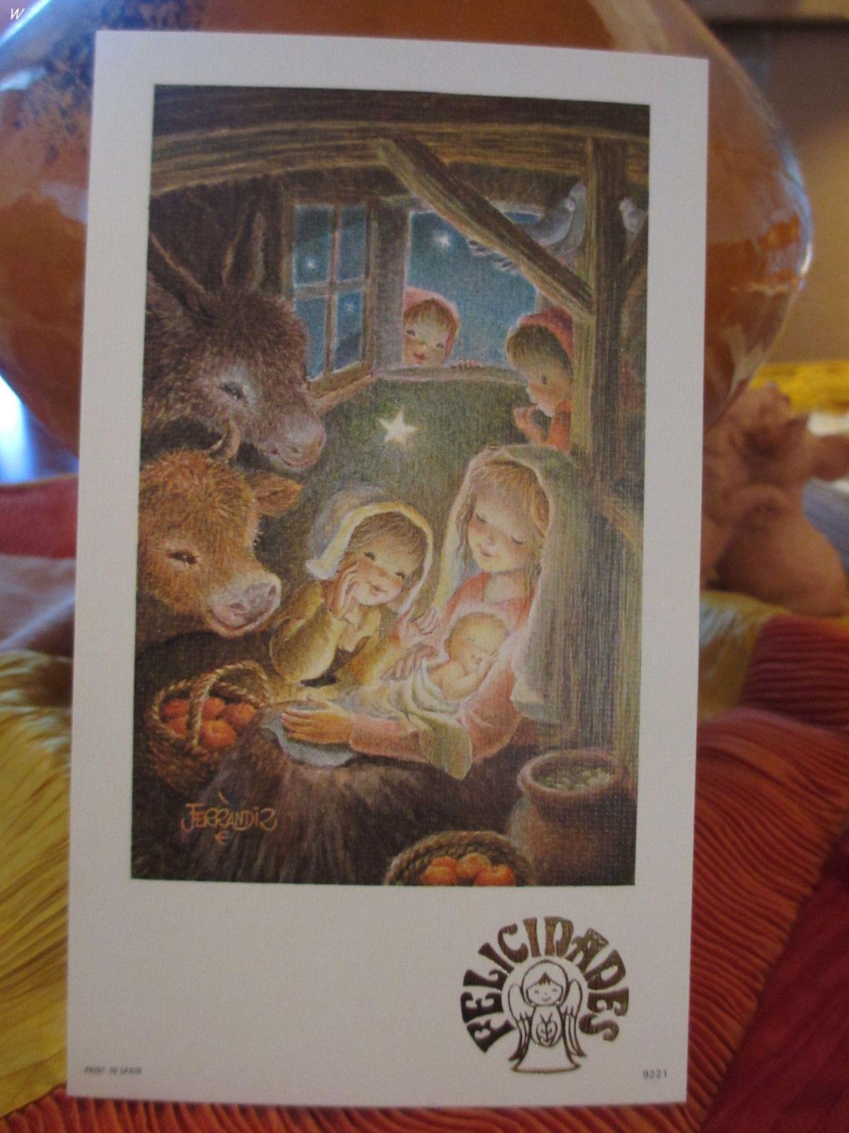 "Juan Ferrandiz Selection of Beautiful Note Cards 3 5"" x 6 5"" Card Only | eBay"