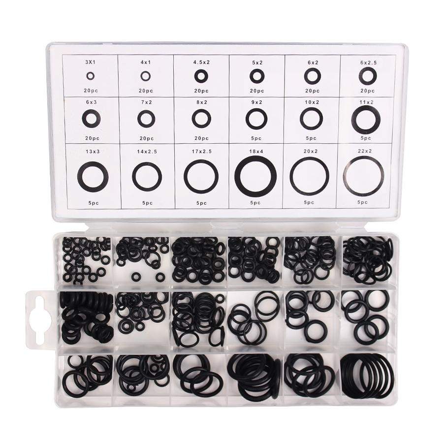 4.92$ Buy here - 225 Pcs Kit Air Conditioning HNBR O Rings Seal ...