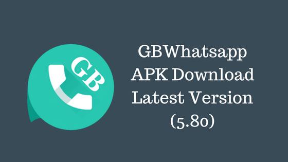 gbwhatsapp 5.80