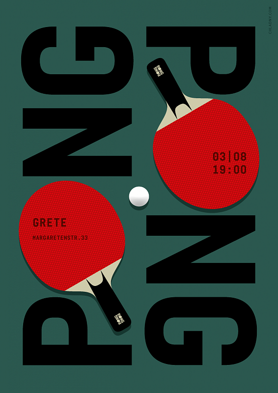 Ping Pong Table Tennis Poster Identity Art Direction Graphic Design Illust Poster Design Inspiration Graphic Design Illustration Creative Poster Design