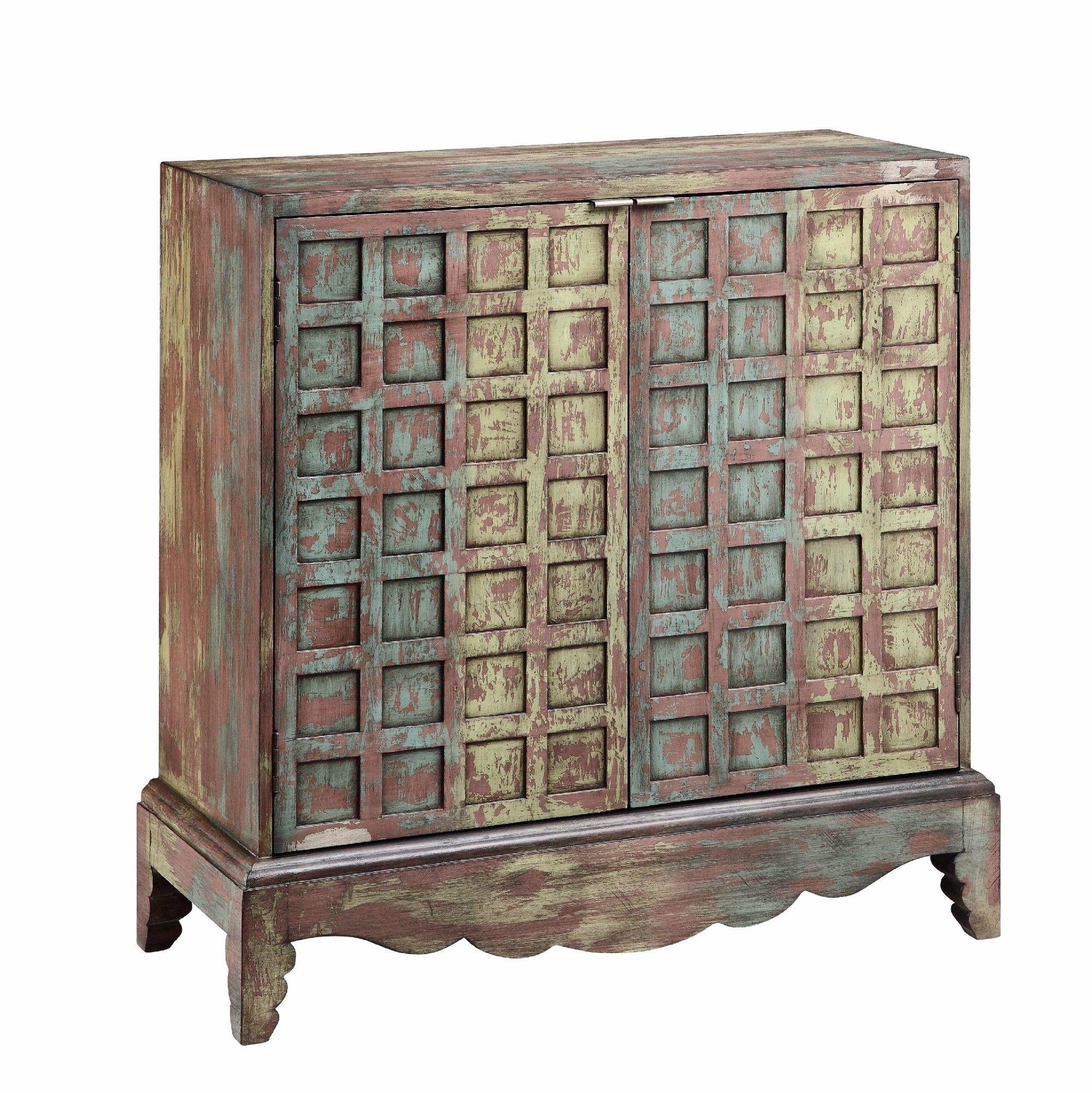 Stein World Johanna 2 Door Cabinet Reviews Wayfair Living Room