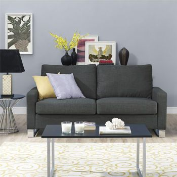 Costco Whole Grey Fabric Sofa