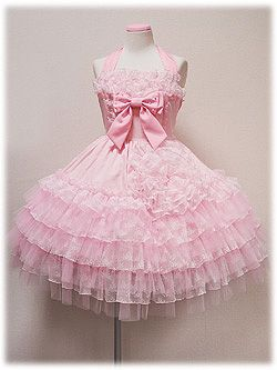 Kawaii fashion  Pink dress