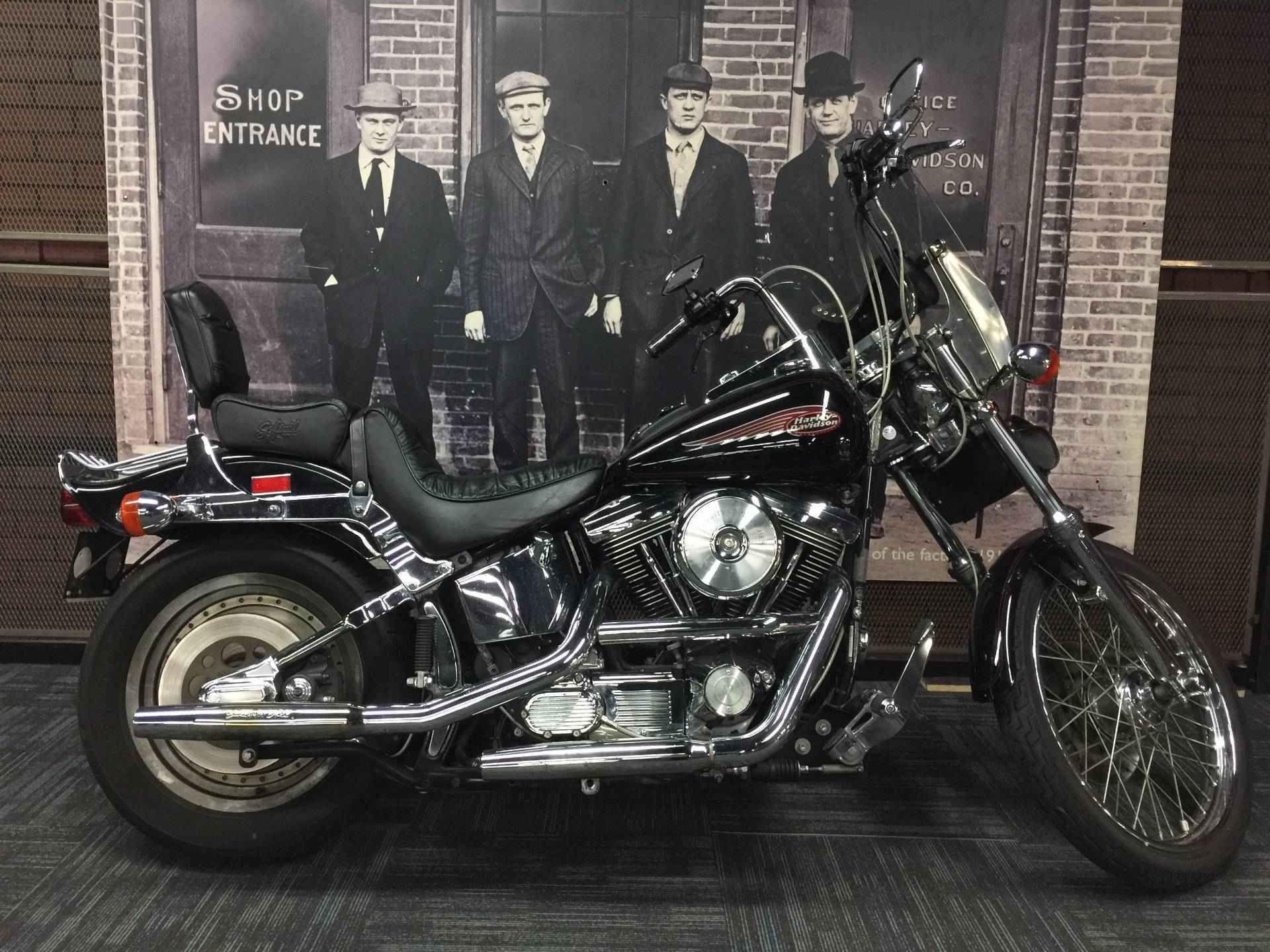 1999 Harley Davidson Fxstc Softaila Custom Softail Custom Harley Davidson Harley Davidson Museum [ 1440 x 1920 Pixel ]