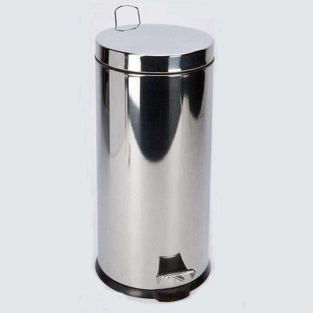 Stainless Steel Silver Pedal Bin