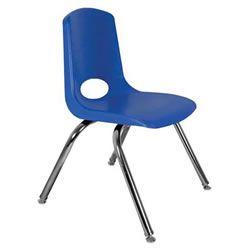 blue school chair. 18\ Blue School Chair
