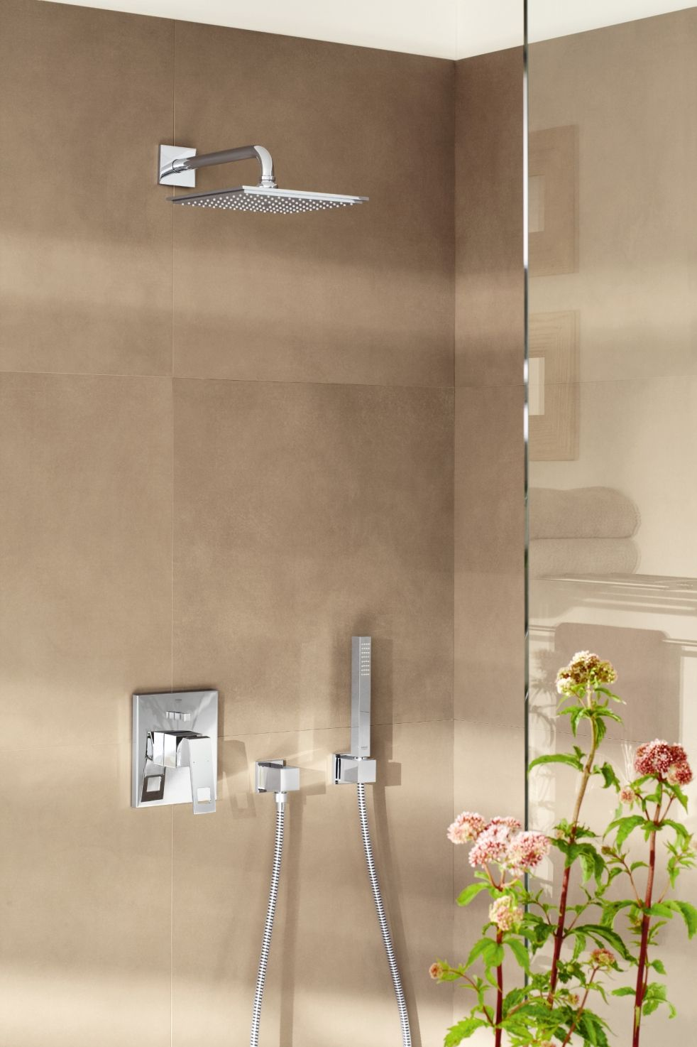 GROHE Eurocube Shower Mixer | Bathrooms | Pinterest | Mixers ...