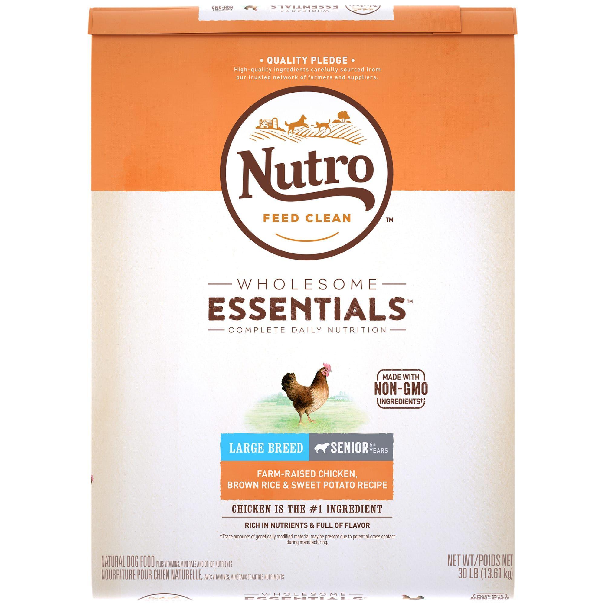 Nutro Wholesome Essentials Small Bites Farm Raised Chicken Brown