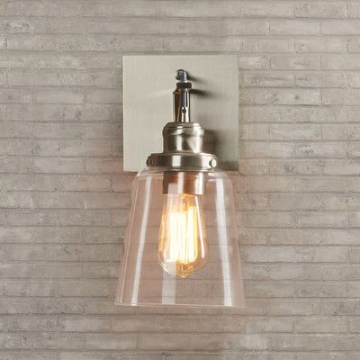 Suspenders 174 1 Light Armed Sconce Wall Sconces Sconces