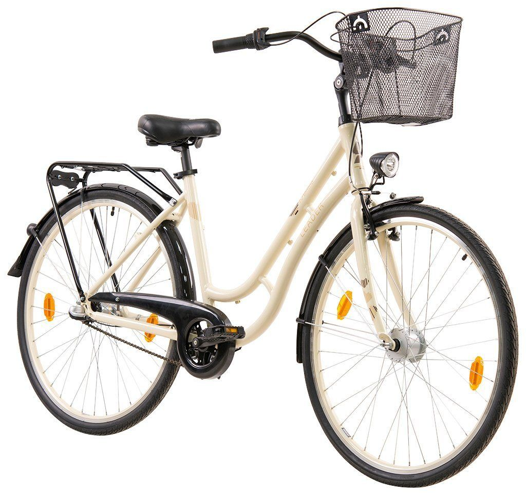 Leader Citybike Damen Madeira 28 Zoll 3 Gang V Brake Und Rucktrittbremse Citybike Damen Damen Und Rucktritt