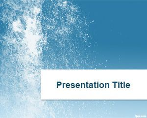 Splash Water Powerpoint Template Ppt Template  Projects To Try
