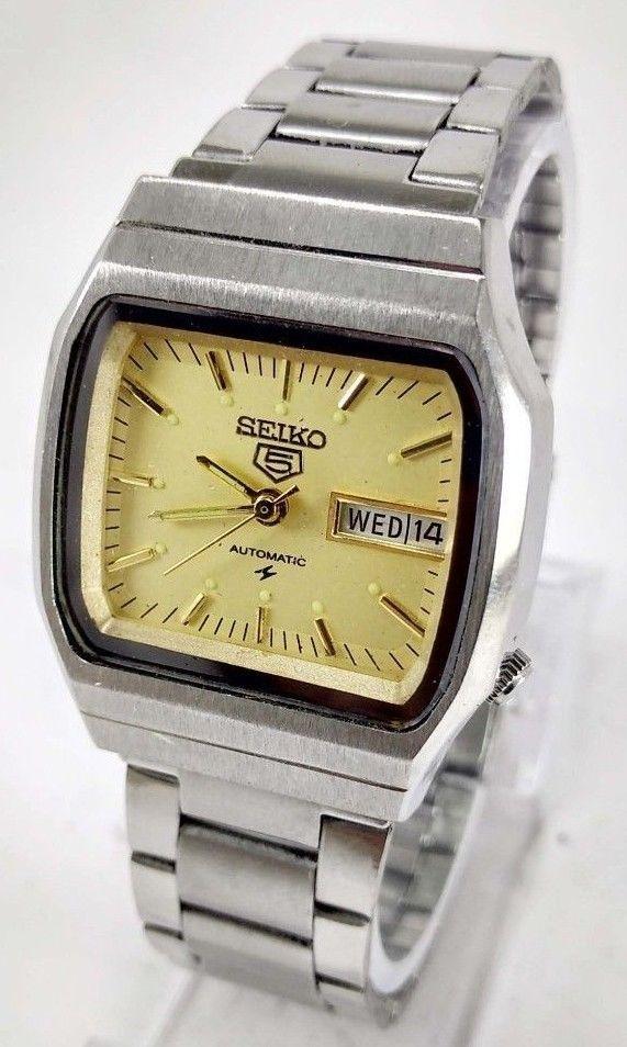 Vintage Seiko 5 Automatic 17j Movement No 6309a Japan Made
