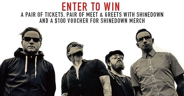 Pittsburgh pa shinedown meet greet contest via nationalshows2 shinedown meet greet contest via nationalshows2 m4hsunfo