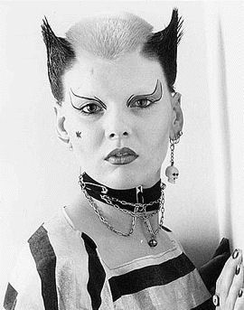 1970s Iconic Punk Makeup And Hair 70s