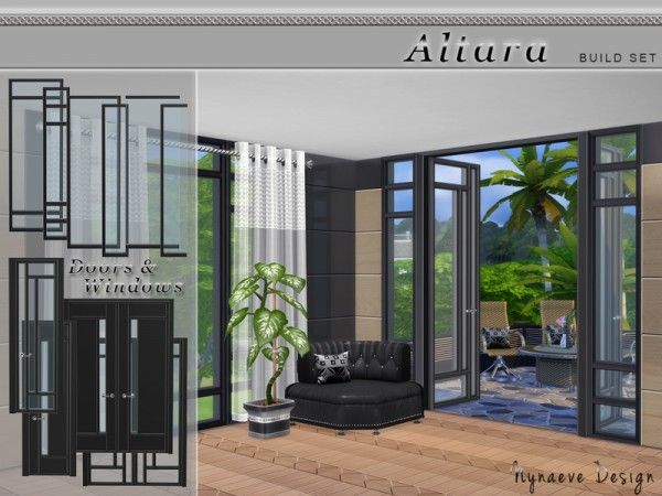 The Sims Resource Altara Build Set By Nynaevedesign Sims 4 Downloads Sims 4 Windows Sims House Sims 4