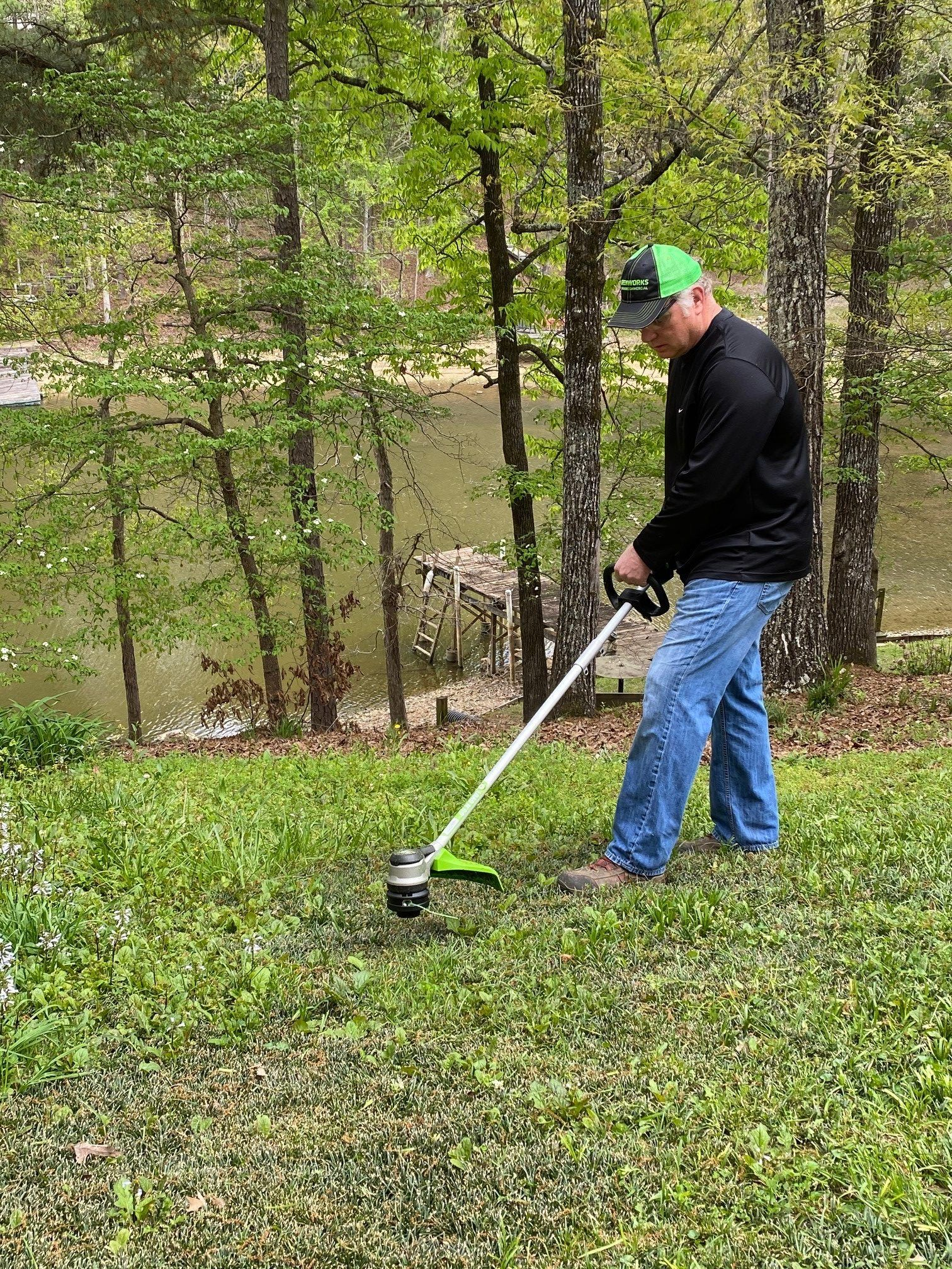 April Tool of the Month - Greenworks Pro 60-Volt String Trimmer - Extreme How To
