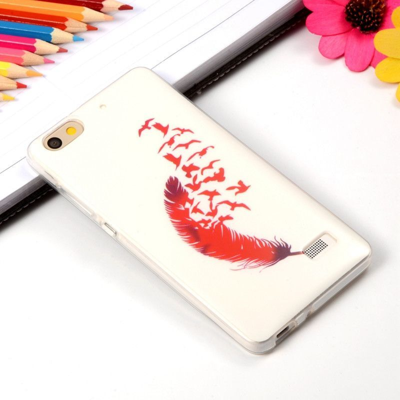 Coque For Huawei Honor 4C Case Lion Retro Patern Silicone Cover Vintage Soft Plastic TPU Fundas For Huawei G Play Mini Para Case