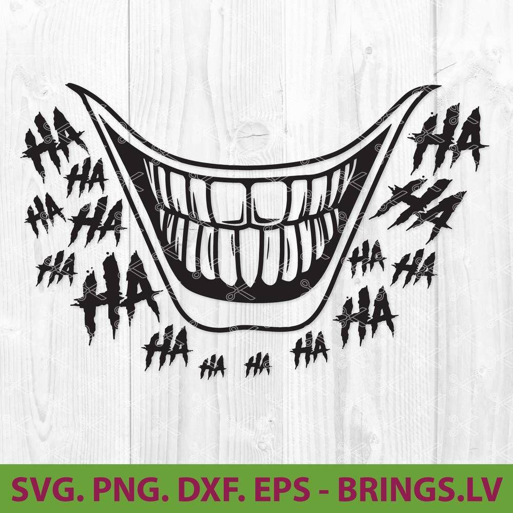 Joker Smile Svg Clown Smile Svg Joker Smile Shirt Joker Smile Mask Joker Smile Joker Joker Art