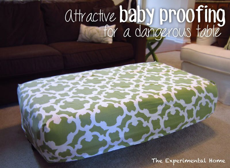 Staging the house attractive baby proofing as seen on The