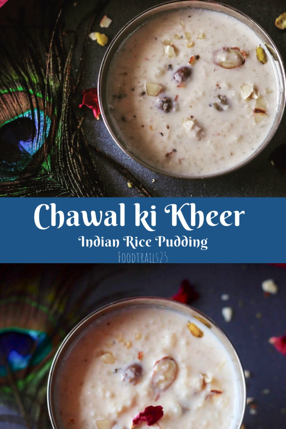 Chawal Ki Kheer Recipes Using Condensed Milk Rice Pudding Indian Kheer Recipe