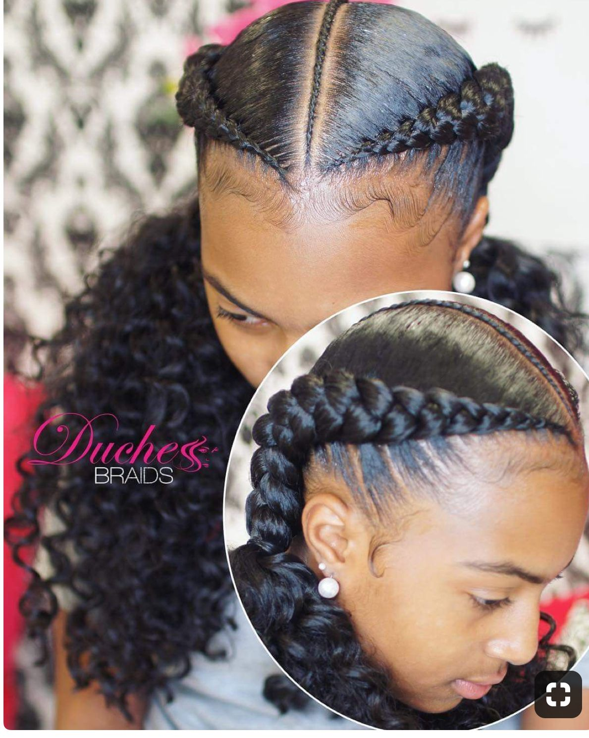 PROTECTIVE HAIRSTYLE 💕💕💕💕💕💕 | Two braid hairstyles ...
