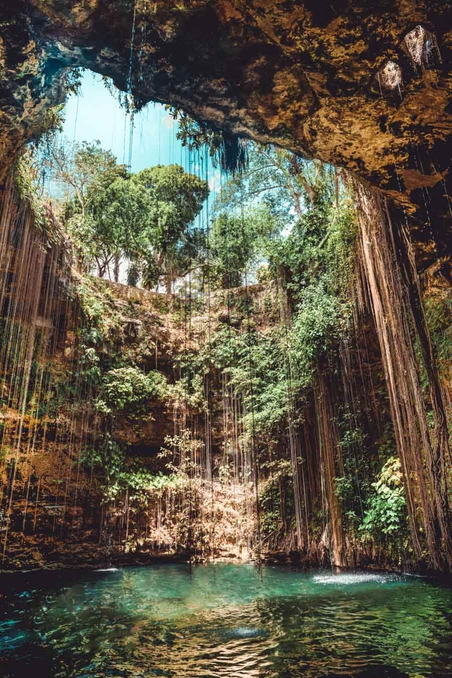 Photo of Cenote Ik Kil (the Chichen Itza Cenote) – Avenly Lane Travel Blog