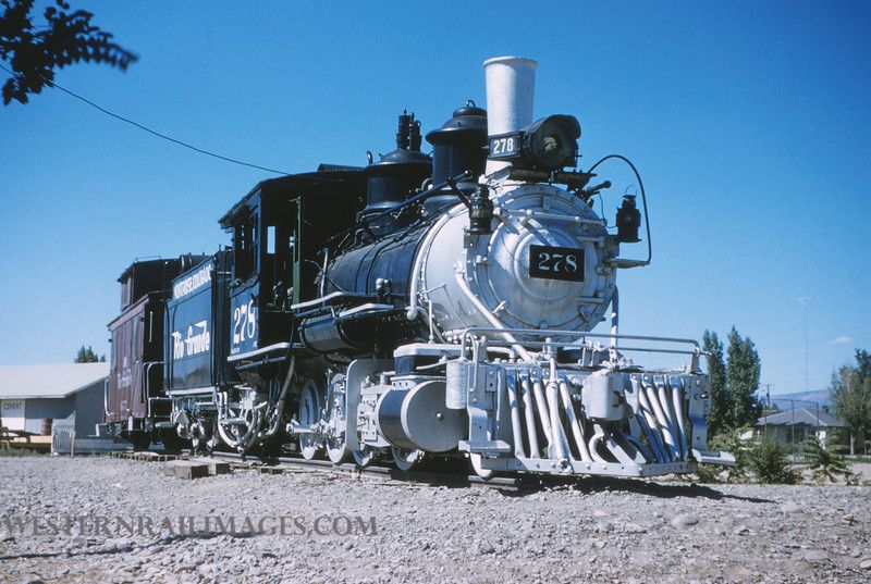 D Rg 381 July 8 1956 Engine 278 At Montrose Co By Jim Ozment