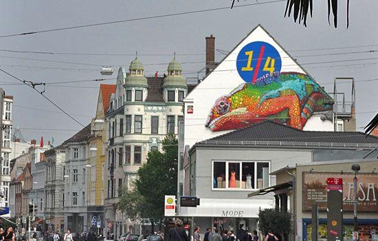 """Das Szene-Viertel in #Bremen - """"Eingang"""" an der Kulturmeile. http://www.liegeplatz-bremen.de/heimat/neustadt-und-buntentor/"""