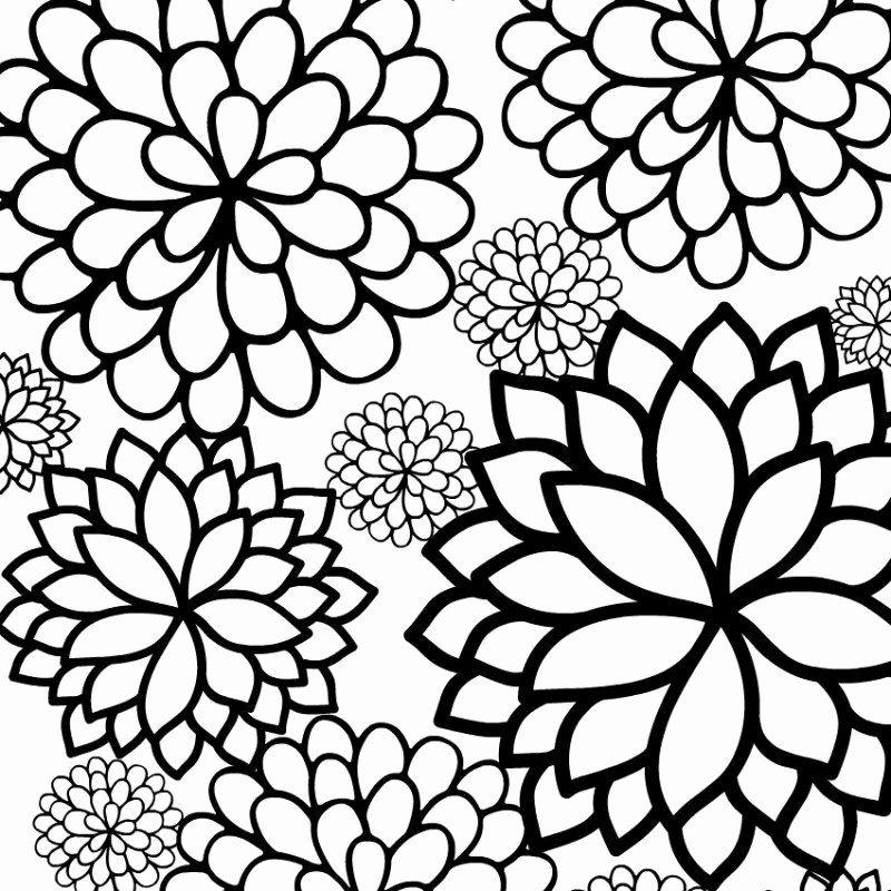 Relaxing Coloring Books Beautiful Relaxing Drawing At Getdrawings  Printable Flower Coloring Pages, Flower Coloring Pages, Mandala Coloring  Pages