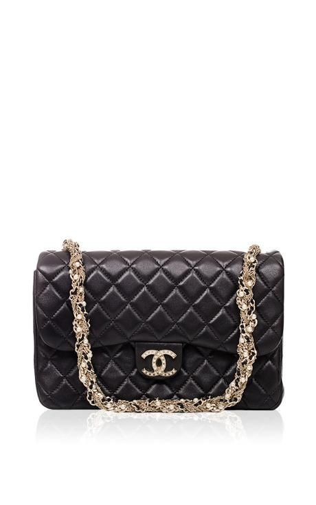 1339703b0eae Chanel Limited Edition Black Westminster Pearl Flap Bag by Madison Avenue  Couture for Preorder on Moda Operandi