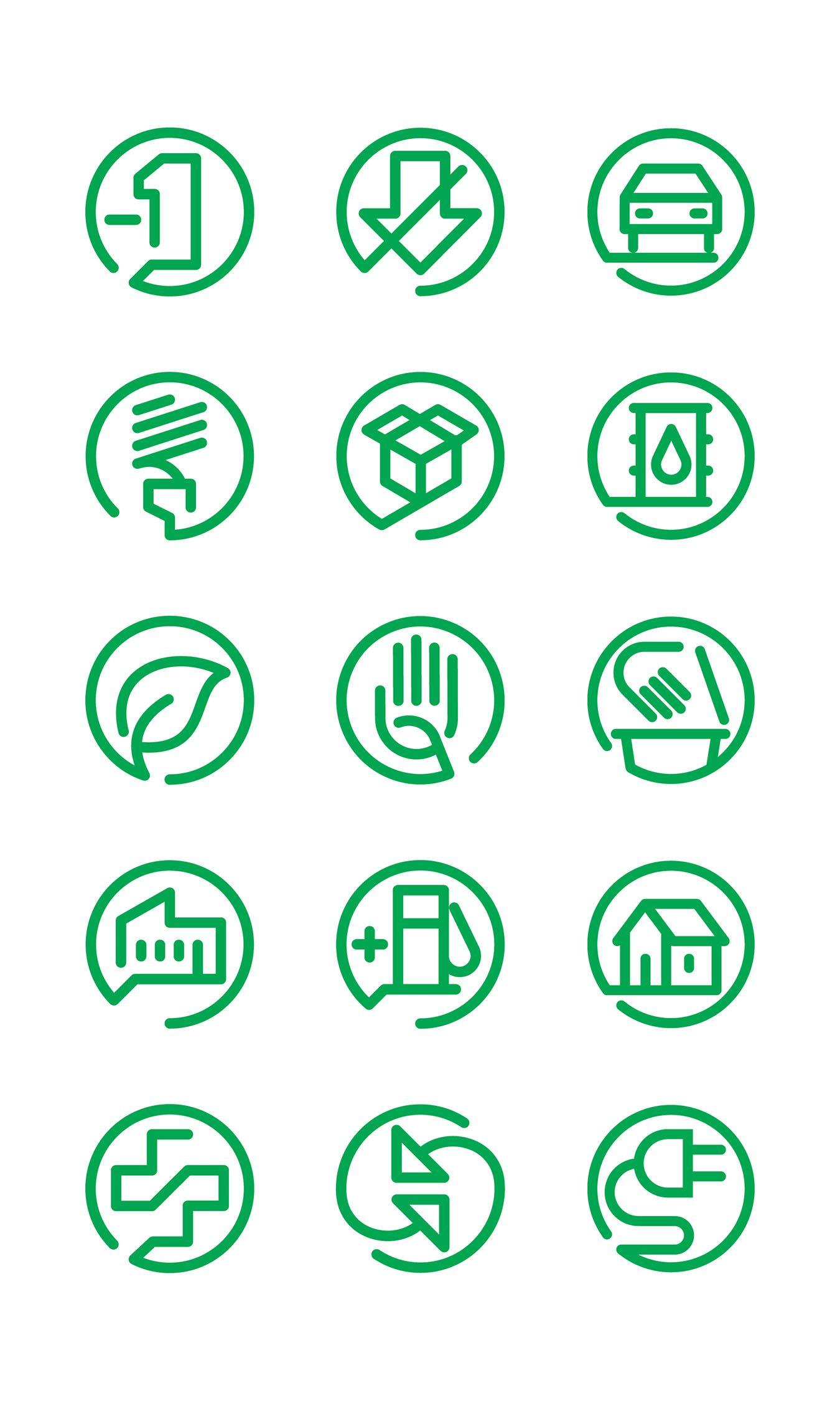 meritor sustainability icons by tony beard icons