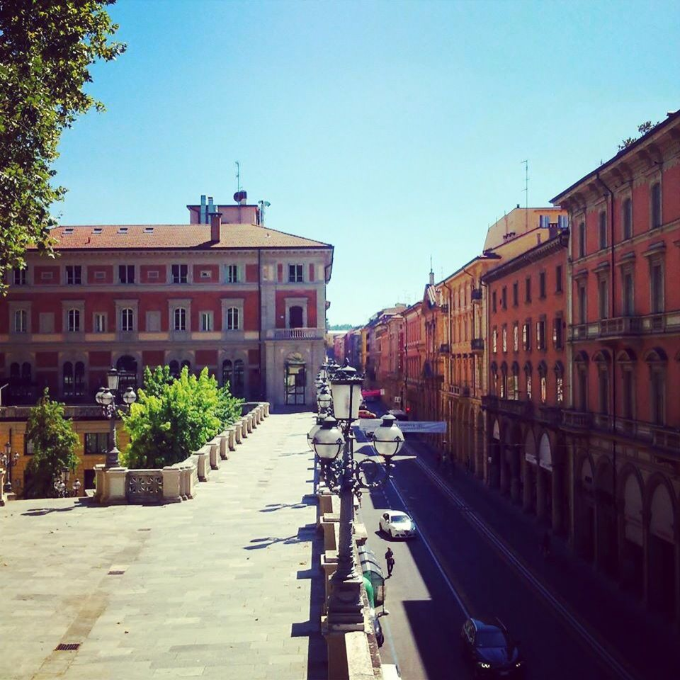 Vista di Via Indipendenza dalla Terrazza del Pincio, Parco della ...