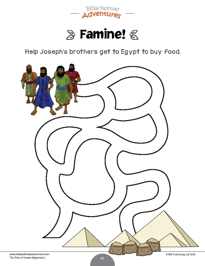The Story Of Joseph Activity Book Beginners Bible Activities For Kids Bible For Kids Joseph Activities [ 1100 x 850 Pixel ]