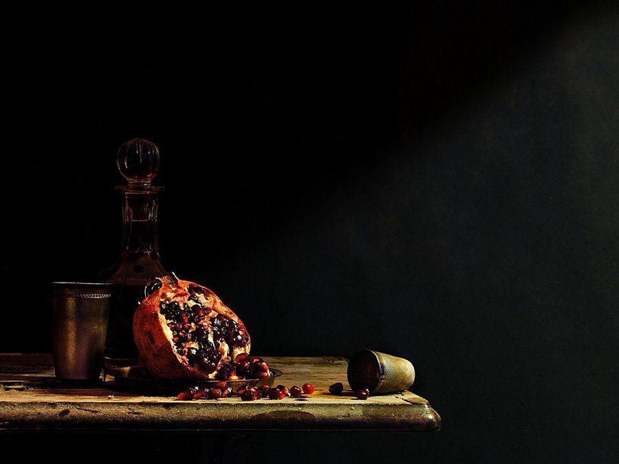 Still Life with Pomegranate by ~MarkScheider