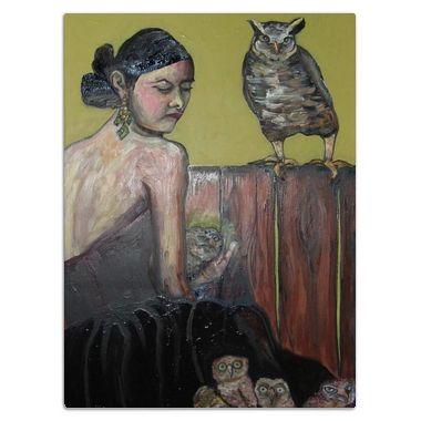 Owl Nest - Eli Halpin's Glass Cutting Boards - Printfection.com $49.99