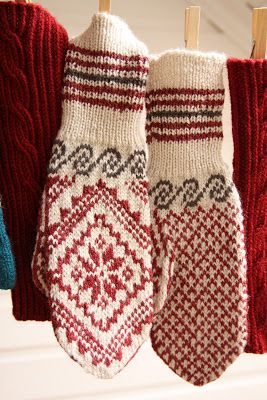 A's Almanac: RED project # 5 - selbumittens ...