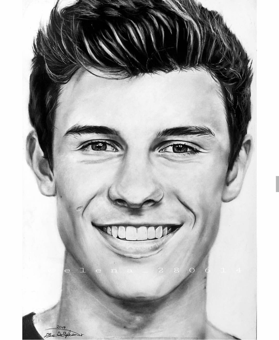 Great job to whoever drew this its the best drawing ive ever seen of shawn ❤