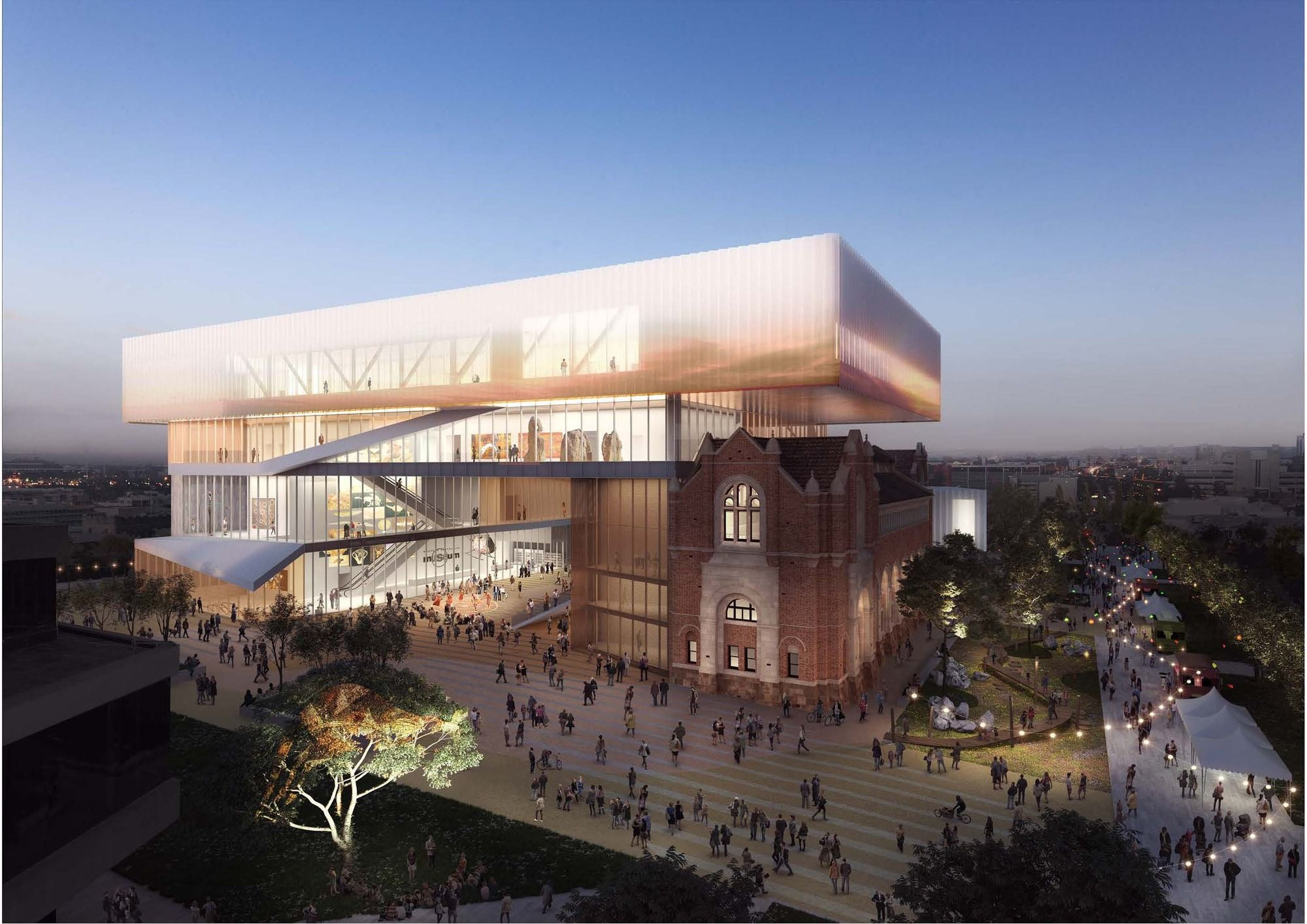 HASSELL OMA Reveal Design For New Museum Western Australia