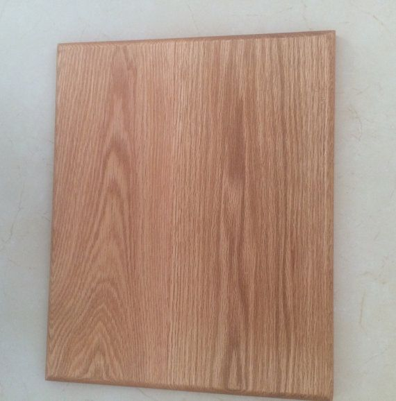 Solid Oak Cheese Board $26 Custom sizes available