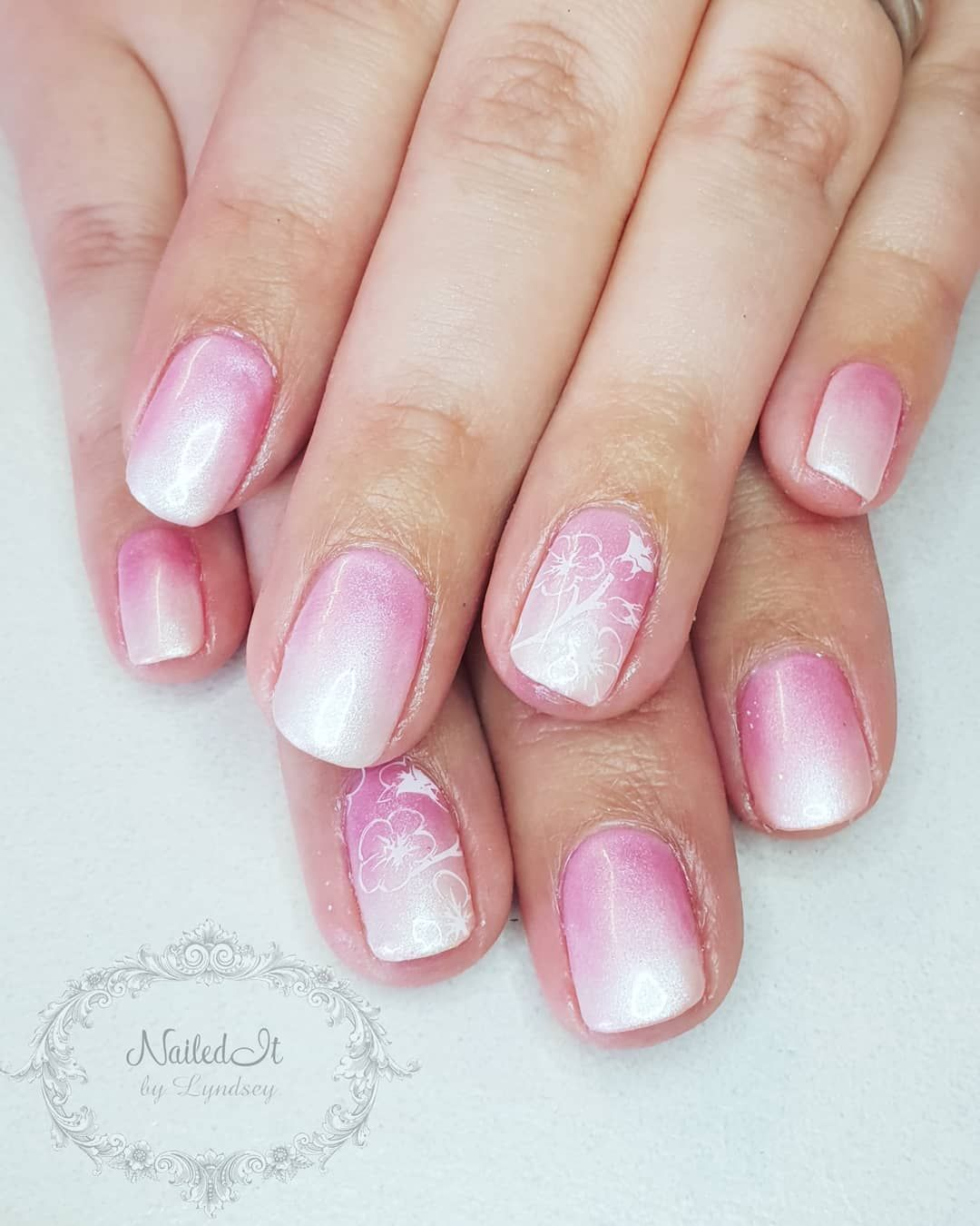 easy and glamorous ombre nail art design ideas for summer nails