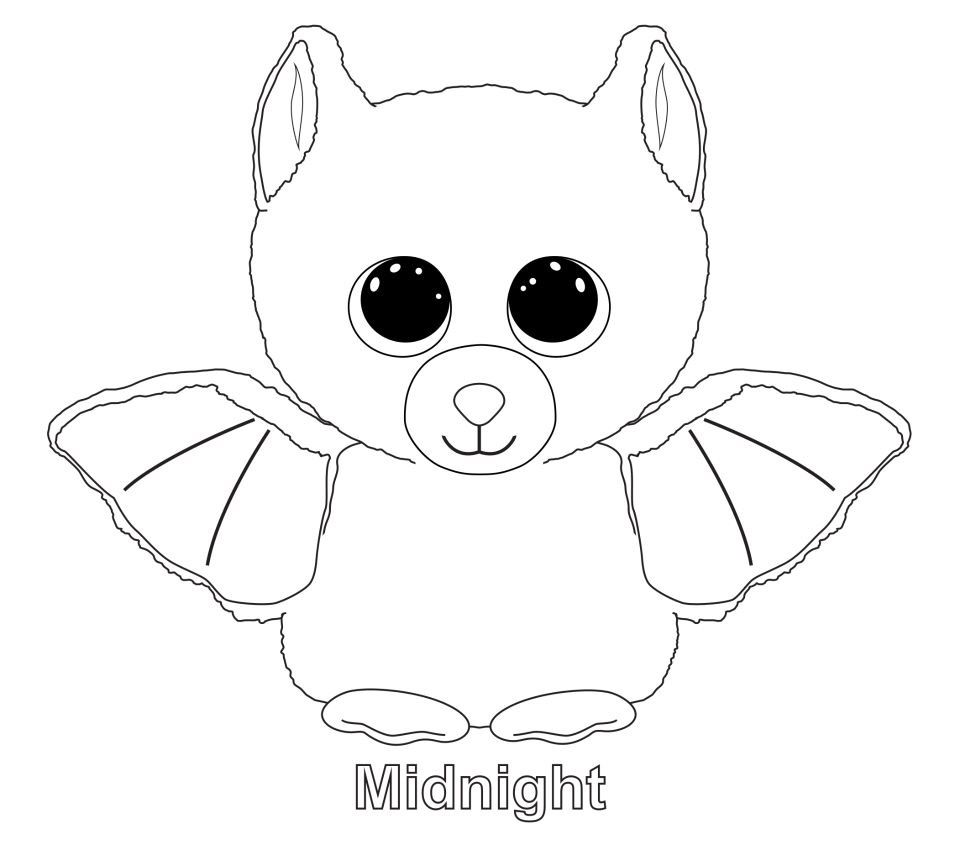- Ty Beanie Boo Coloring Pages Download And Print For Free Baby