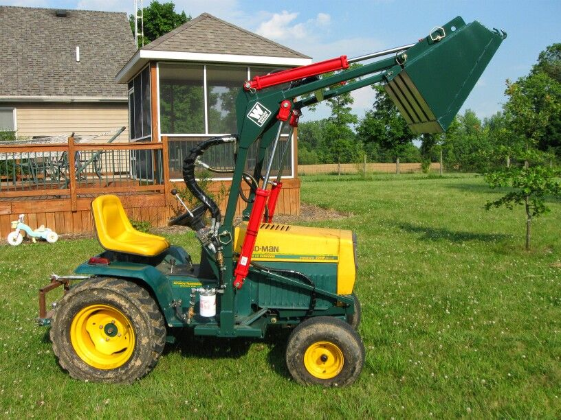 Homemade Frontloader Home Made Vehicles Lawn Mower