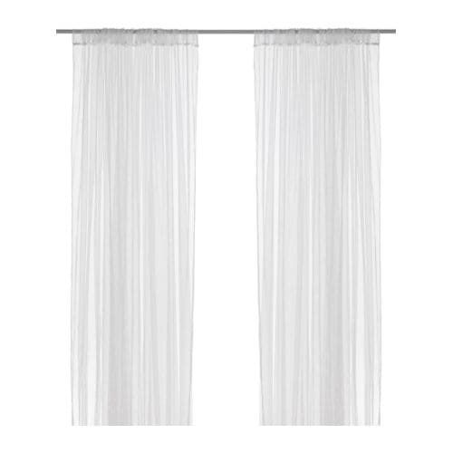 LILL Lace Curtains 1 Pair White IKEA In 2019 Ikea Curtains Drapes Curtains Lace Curtains